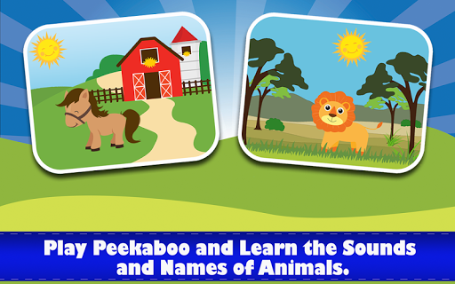 Animal Friends - Peekaboo Game