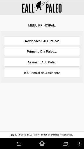 EALL Paleo - Dieta Paleolítica
