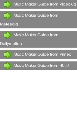 Music Maker Guide