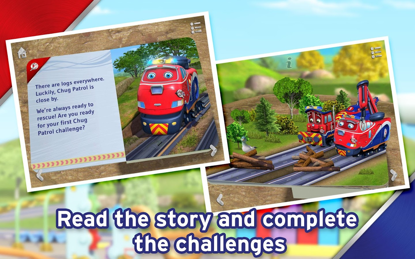 Chuggington Chug Patrol Book - screenshot