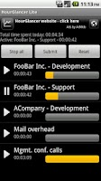Screenshot of HourGlancer Lite