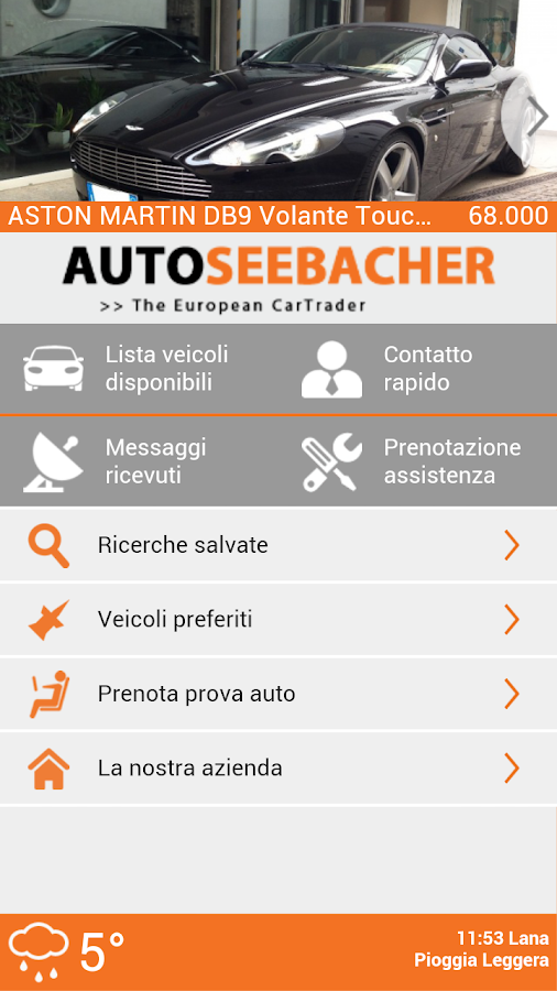 Auto Seebacher- screenshot