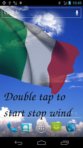 ... Screenshot for 3D Italy Flag Live Wallpaper in United States Play Store ...