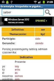 Hiszpański Gramatyka- screenshot thumbnail