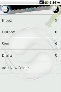 Easy SMS Taichi theme- screenshot thumbnail