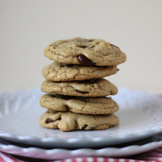 Dark Chocolate Chip Walnut Coconut Oil Cookies