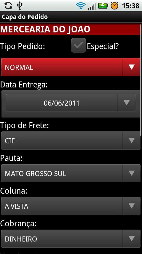 Apogeus - Força de Vendas - DEMO- screenshot
