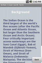 Indian Ocean Quick Facts
