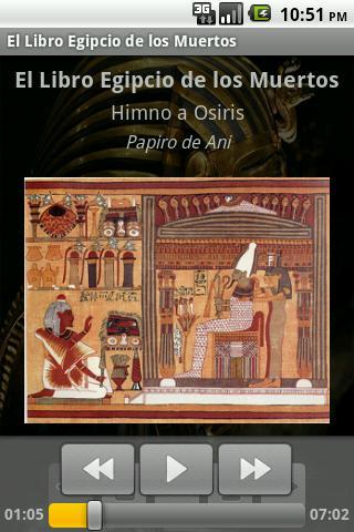 Libro Egipcio de los Muertos - screenshot