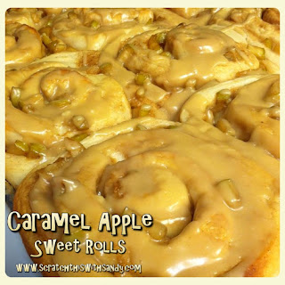 Caramel Apple Sweet Rolls