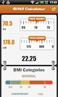 Screenshot of BMI - Women's Assistant