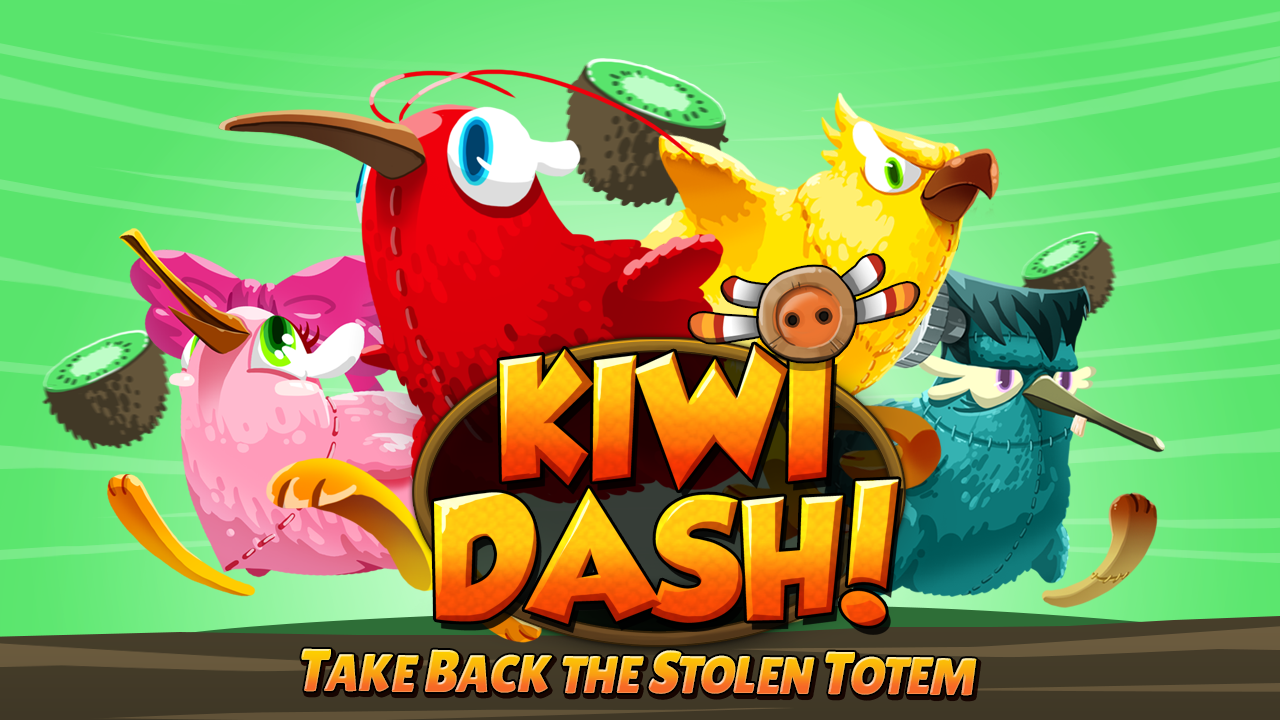 Kiwi Dash - screenshot