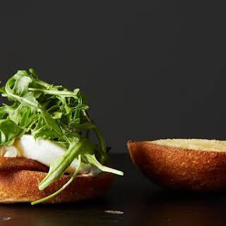 Poached Egg & Bacon Sandwich.