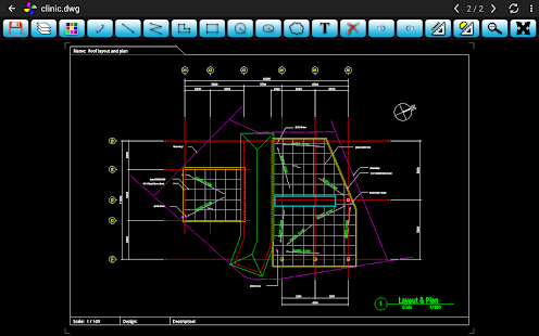 SimonView - DWG Viewer- screenshot thumbnail