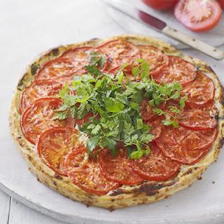 Tomato & Curd Cheese Tart.
