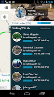 Screenshot of Virtual Walk Treadmill or GPS