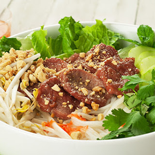 Vietnamese Noodle Salad With Caramelized Pork