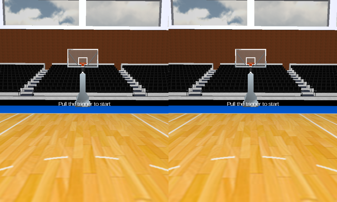 Basketball VR for Cardboard- screenshot