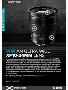 Fujifilm X Magazine- screenshot thumbnail