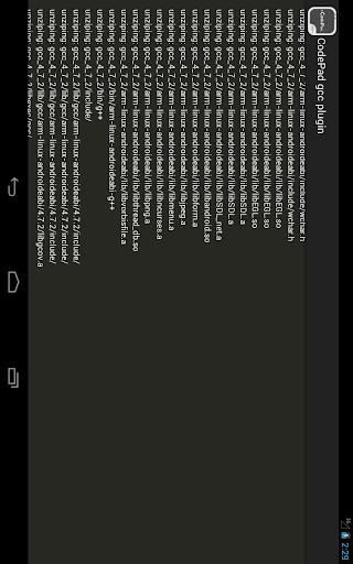 CodePad GCC plugin