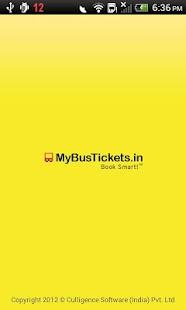 MyBusTickets.in- screenshot thumbnail
