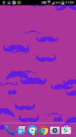 Screenshot of Mustache Live Wallpaper