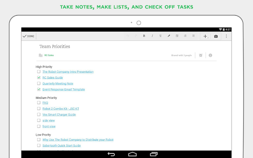 Evernote - stay organized. Screenshot 26