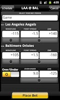 Screenshot of Bet Tracker Manage Sports Bets