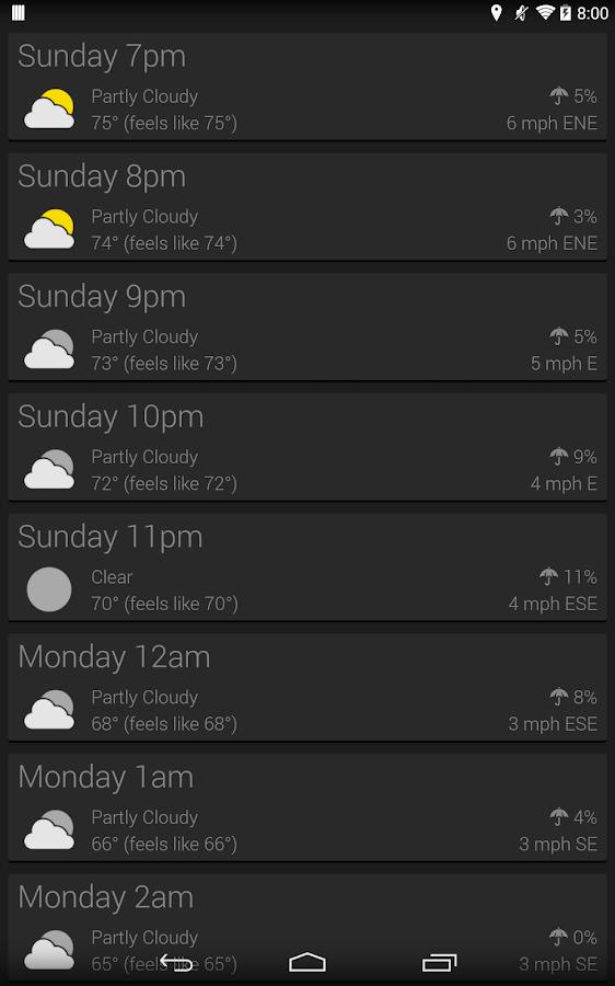 atmosHere Weather - screenshot