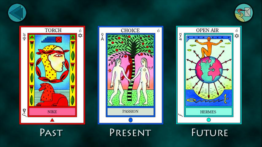 The Elemental Tarot- screenshot