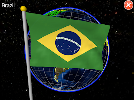 Screenshot of Globe Earth Pro: Flags Anthems