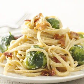 Brussels Sprouts Carbonara.