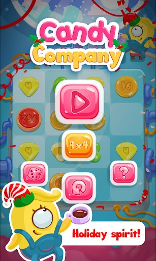 2048:Candy Company Puzzle Game