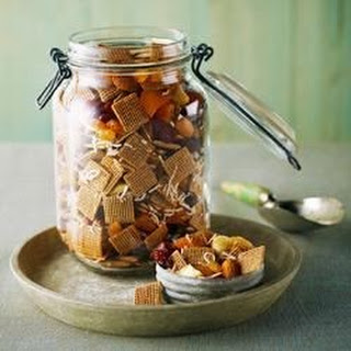 Shreddies Sweet and Spicy Snack Mix.