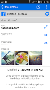 mSecure Password Manager - screenshot thumbnail