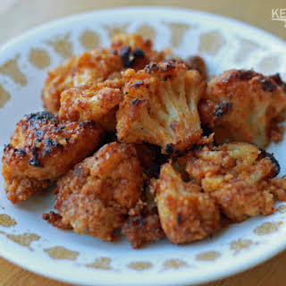 Buffalo Roasted Cauliflower ***MAD***.