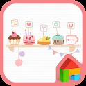 Sweet love Dodol Theme icon