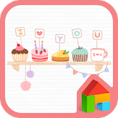 Sweet love Dodol Theme