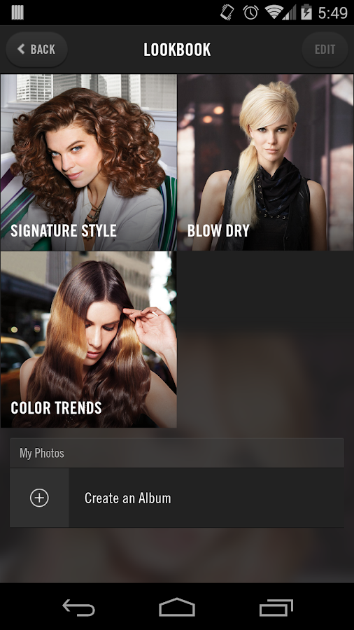 Style Station By Redken - screenshot