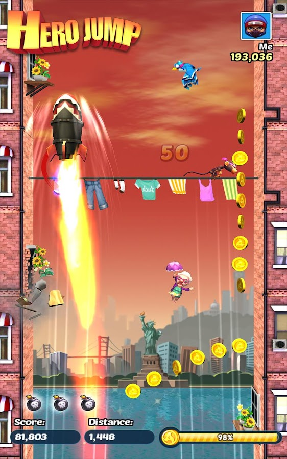 Hero Jump- screenshot
