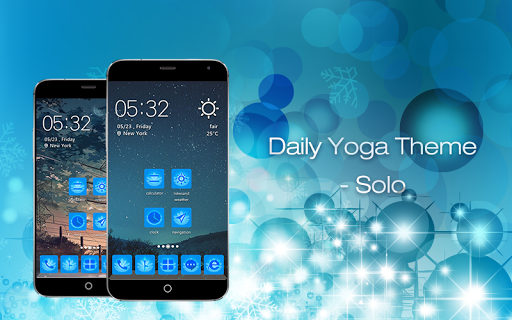 Daily Yoga Theme Package