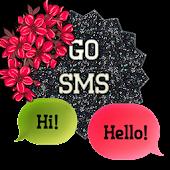 GO SMS - Zebra Blossom 2