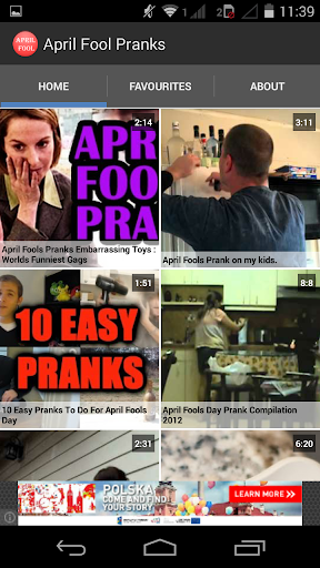 April Fool Pranks