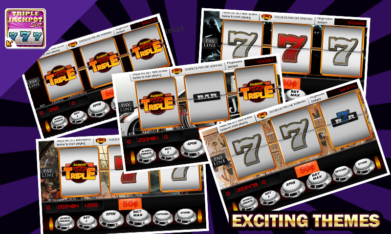 Triple Jackpot - Slot Machine- screenshot