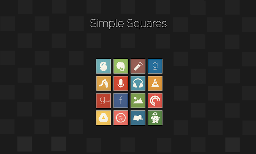Simple Squares - Icon Pack
