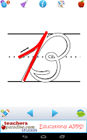 Screenshot of ABCs Kids Tracing Cursive ZBC