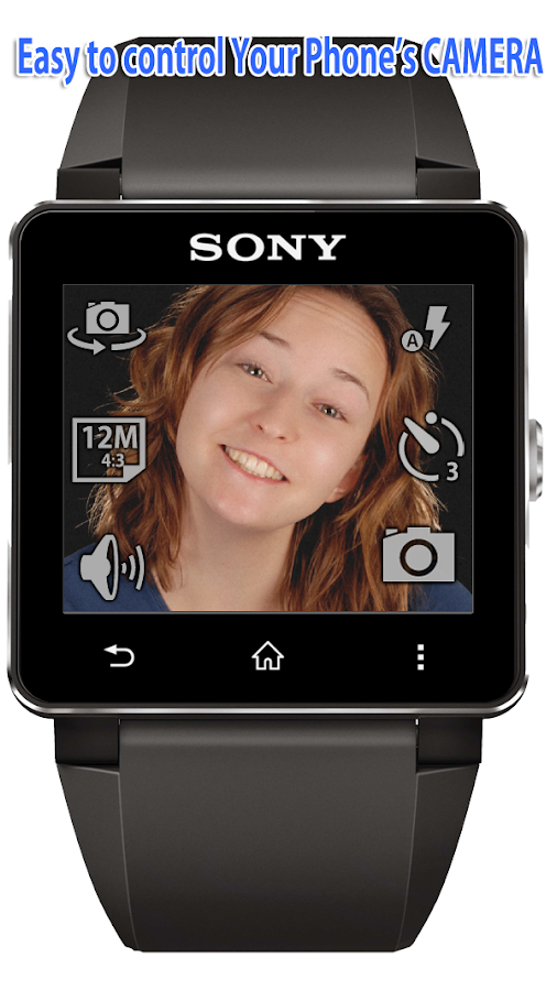 Remote Shot for SmartWatch 2- screenshot