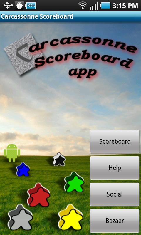 Carcassonne Scoreboard - screenshot