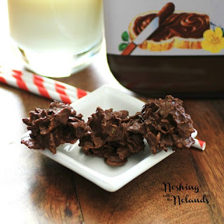Nutella Clusters for Creative Cookie Exchange