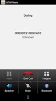 Screenshot of UTel Phone